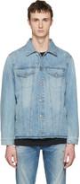 Diesel Blue Denim Nhill-re Jacket