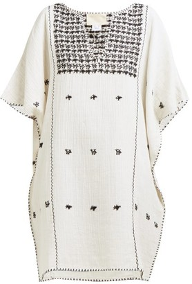 Anaak - Luna Cotton Kaftan - Womens - Ivory Multi