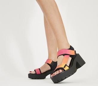 Vagabond Dioon Sport Sandals Pink Multi