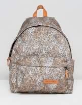 Eastpak Padded Pak'R Backpack In Leopard