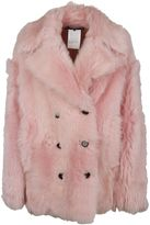 Rochas Double Breasted Furred Coat