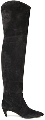 Roger Vivier Suede Over-the-knee Boots