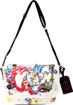Marc Jacobs Collage Print Messenger Bag