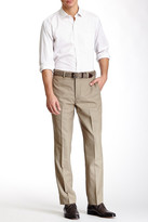 Louis Raphael Solid Worsted Wool Modern Fit Pant