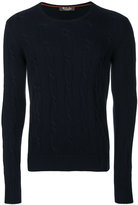 Loro Piana knitted crew neck sweater - men - Cashmere - 46