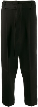 3.1 Phillip Lim Cropped Tie Front Trousers