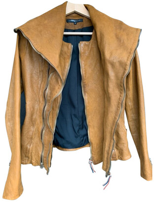 Jerome Dreyfuss brown Leather Jackets