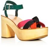 Loeffler Randall Elsa Ankle Strap Platform Sandals
