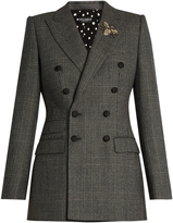 Dolce & Gabbana Prince of Wales-checked wool blazer