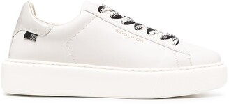 Woolrich Contrast-Lace Sneakers