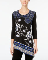 JM Collection Asymmetrical Tunic Top, Only at Macy's