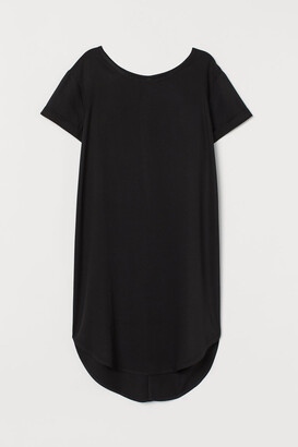 H&M Short T-shirt Dress - Black