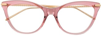 Boucheron Eyewear Crystal Rock optical glasses