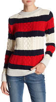 Vero Moda Striped Knit Sweater