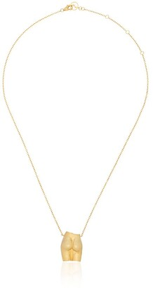 Anissa Kermiche Le Derriere gold-plated sterling silver necklace