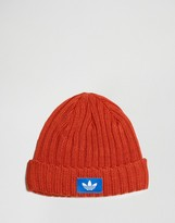 Adidas Originals Beanie In Orange Ay9311