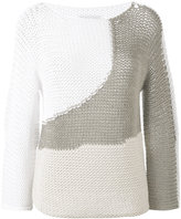Fabiana Filippi open knit sweater - women - Cotton/Polyamide - 40
