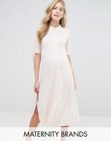 Bluebelle Maternity Shirt Dress