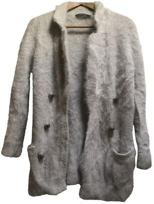 Anna Molinari Grey Wool Knitwear for Women