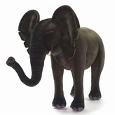 The Well Appointed House Hansa Toys Life Sized Standing Ride on Stuffed Elephant