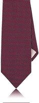 Fairfax Men's Neat Jacquard Necktie-RED