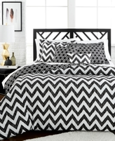 Jessica Sanders Etched Chevron 4-Pc. Reversible Twin Comforter Set