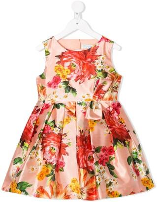 Lula Abel & floral print midi dress