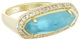 Kendra Scott Arielle Ring in London Blue Illusion