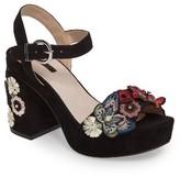 Topshop Women's Laney Embellished Platform Sandal