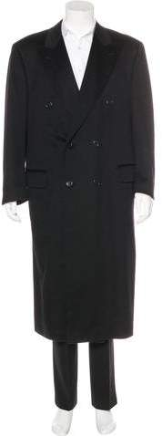 Canali Double-Breasted Cashmere Coat