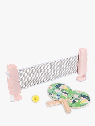 Sunnylife Monte Parrots Table Tennis Set