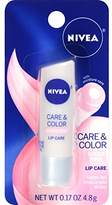 Nivea Care & Color Sheer Lip Care 0.17 Ounce Carded Pack (Pack of 6)