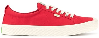 Cariuma OCA Low Red Canvas Sneaker