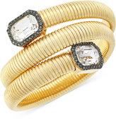 Vince Camuto Gold-Tone Stone Coil Bracelet