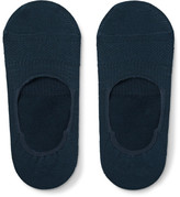 Nonnative Dweller Cotton-blend No-show Socks - Midnight blue