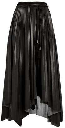 Nanushka Beejan Pleat Midi Skirt