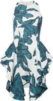 C/Meo CMEO Layered hem mini dress