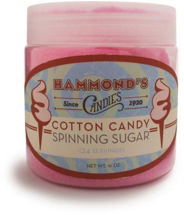 Sur La Table Hammond's Cotton Candy Spinning Sugar, Strawberry
