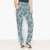 Anne Weyburn Draping Printed Trousers
