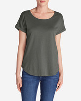 Eddie Bauer Women's Girl On The Go Gate Check Top