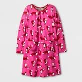 Happy by Pink Chicken® Girls' Fox Knit A Line Dress - Pink