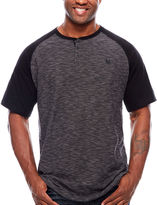 Zoo York Short Sleeve Henley Shirt-Big and Tall