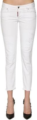 DSQUARED2 Jennifer Cotton Denim Jeans