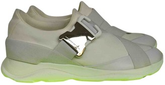 Christopher Kane White Cloth Trainers