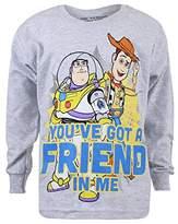 Disney Pixar Boy's Friend in Me Long Sleeve Top,7-8 Years