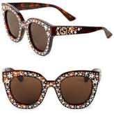 Gucci 49MM Star-Studded Sunglasses