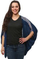 Marvel Captain America Shield Juniors Dolman Cardigan