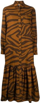 Mara Hoffman Freda animal-print beach dress