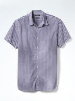Banana Republic Camden-Fit Custom Wash Gingham Shirt