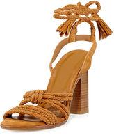 Joie Banji Braided Chunky-Heel Sandal